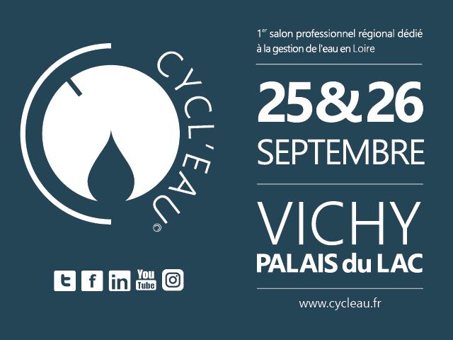 Retrouvez nous au salon Cycl'Eau à Vichy