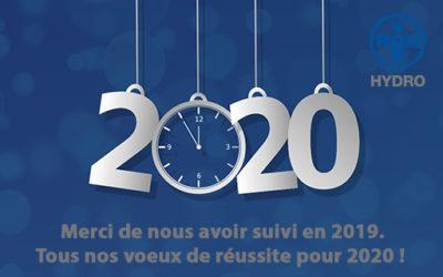 Meilleurs voeux de succès pour 2020