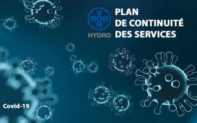 La mobilisation de l'équipe vonRoll hydro France face au Covid-19